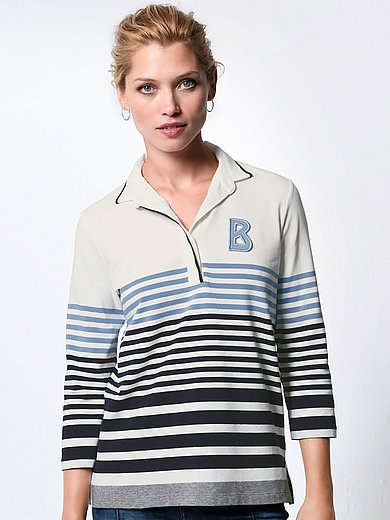 Bogner - Polo shirt with 3/4-length sleeves