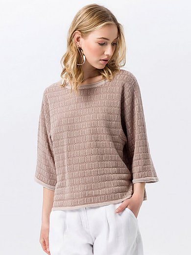Peter Hahn - Le pull en maille relief