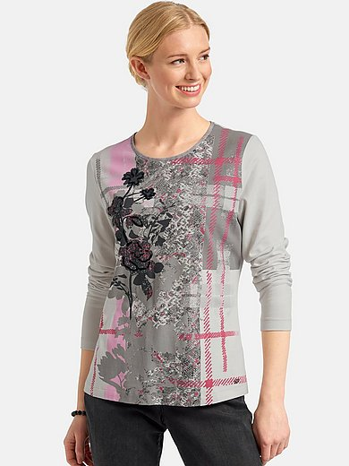 Basler - Round neck shirt with long sleeves