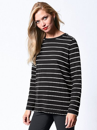 Bogner - Striped round neck top