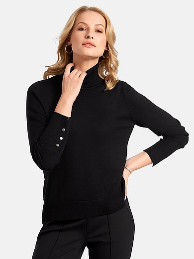 Basler - Roll-neck jumper with long sleeves