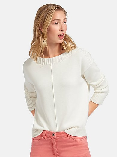 Peter Hahn - Jumper with long sleeves in 100% cotton
