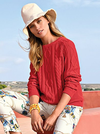 Peter Hahn - Pullover aus 100% Baumwolle Premium Pima Cotton