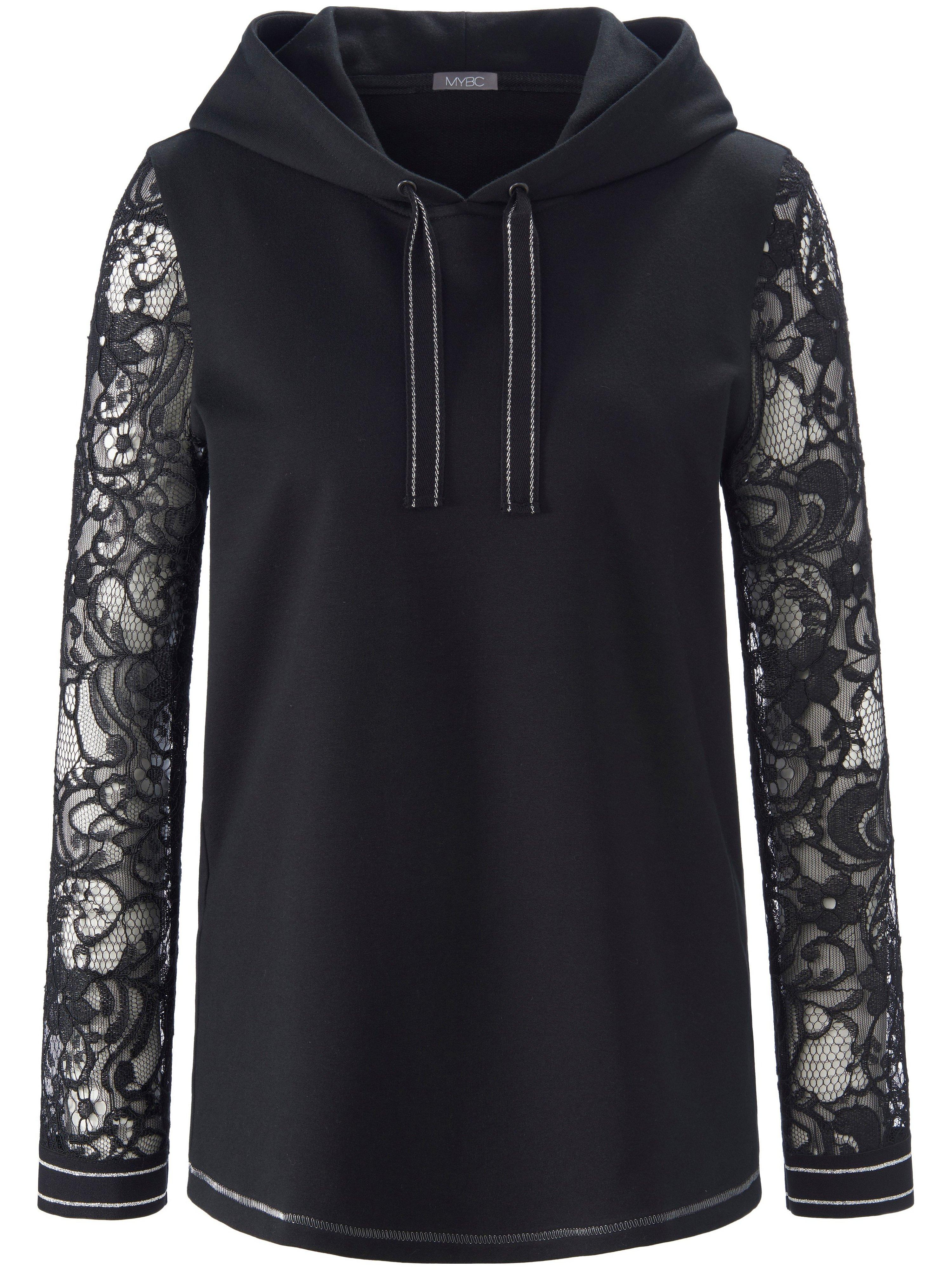 Sweatshirt lange mouwen Van MYBC zwart