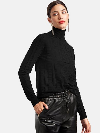 Laura Biagiotti ROMA - Roll-neck jumper with long sleeves