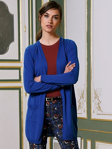 Riani Cardigan in 100% new milled wool royal blue