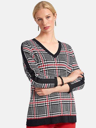 Basler - V-neck jumper with long sleeves
