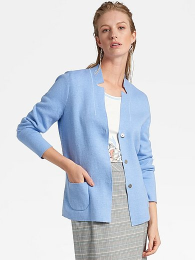 Basler - Knitted blazer with long sleeves
