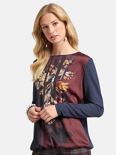 Basler - Shirt met lange mouwen en bloemenprint