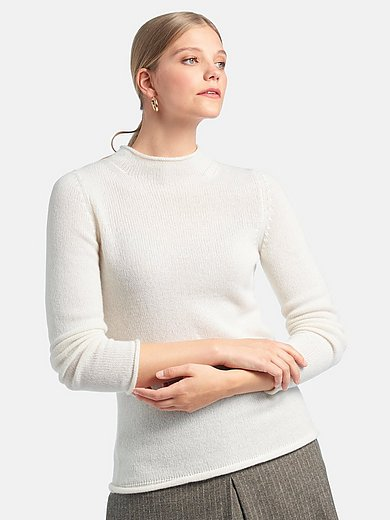 Fadenmeister Berlin - Jumper with long sleeves and stand-up collar