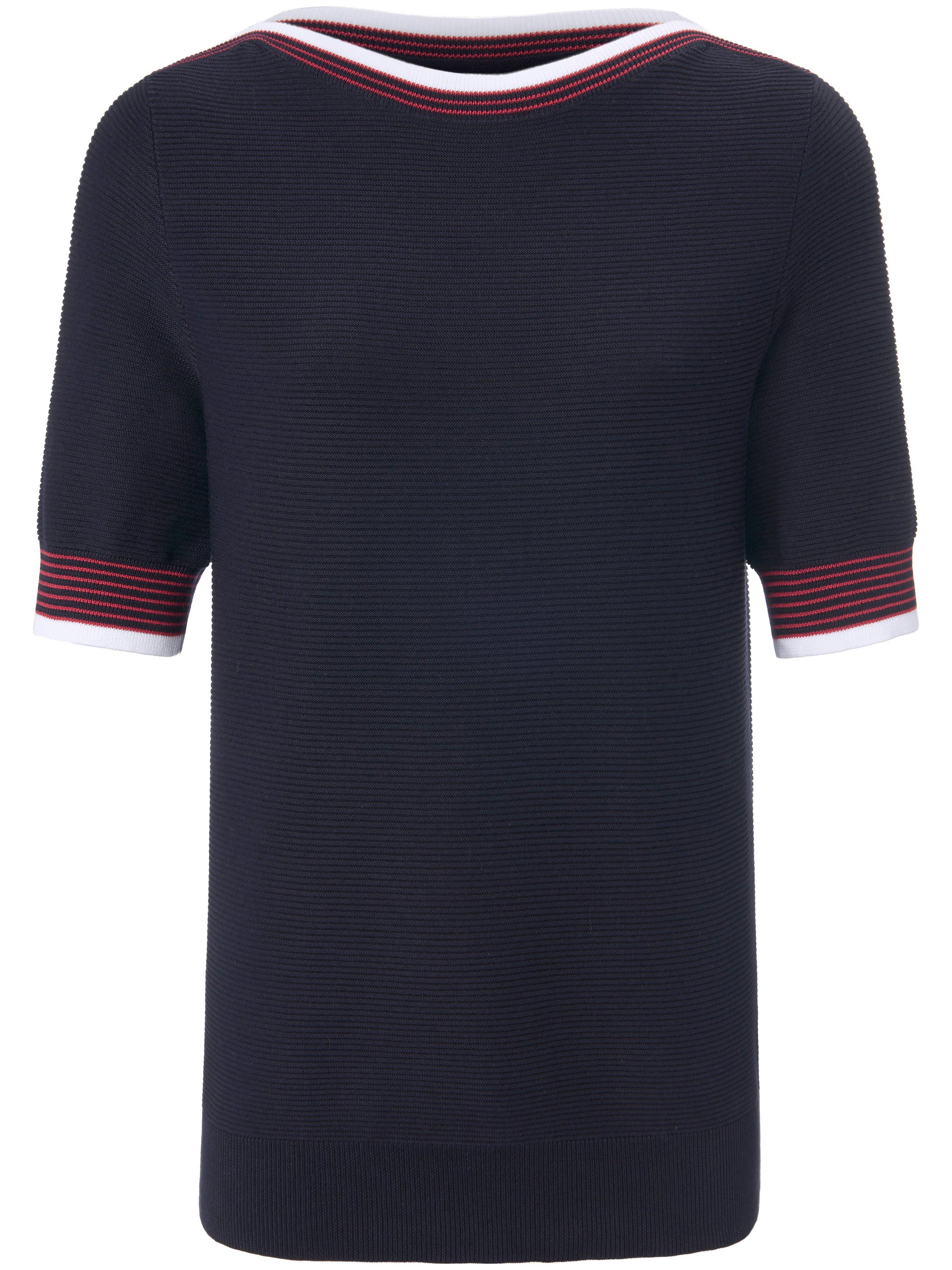 Jumper in 100% cotton Peter Hahn blue