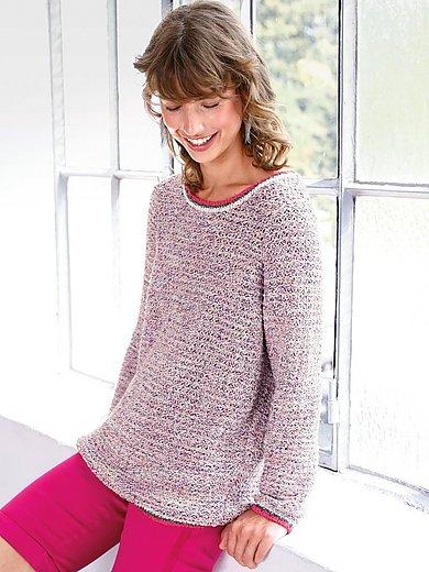 Looxent - Rundhalsad tröja med lång ärm