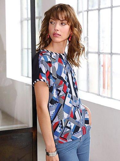Looxent - Blusen-Shirt mit überschnittener Schulter