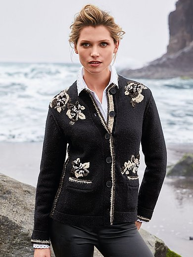 Zaubermasche - Cardigan in wool and cashmere