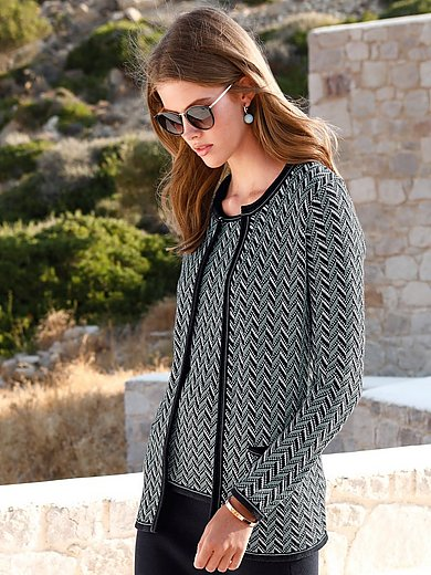 mayfair by Peter Hahn - Round neck cardigan
