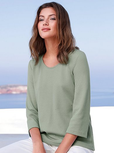 mayfair by Peter Hahn - Pullover-Shirt mit 3/4-Arm