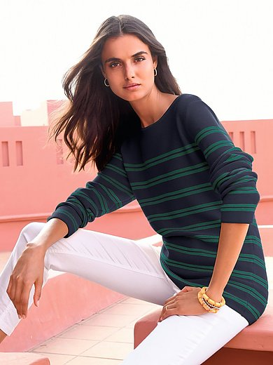 Peter Hahn - Le pull 100% coton manches longues