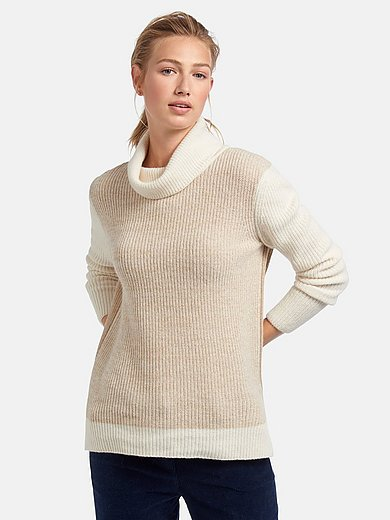 Barbour - Roll-neck jumper with long sleeves