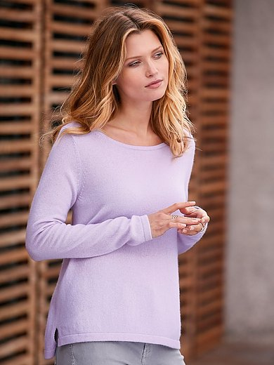 FTC Cashmere - Round neck jumper in 100% cashmere