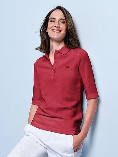 Lacoste - Poloshirt med halvlange ærmer i 100% bomuld