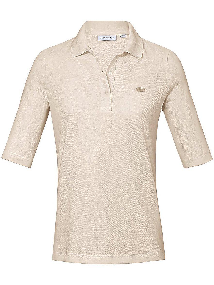 lacoste - Polo-Shirt langem 1/2-Arm  beige Größe: 38