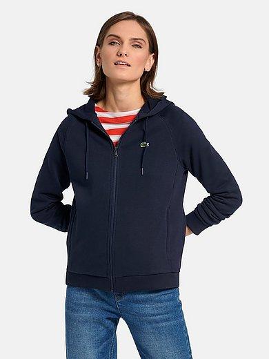 Lacoste - La veste en sweat à capuche