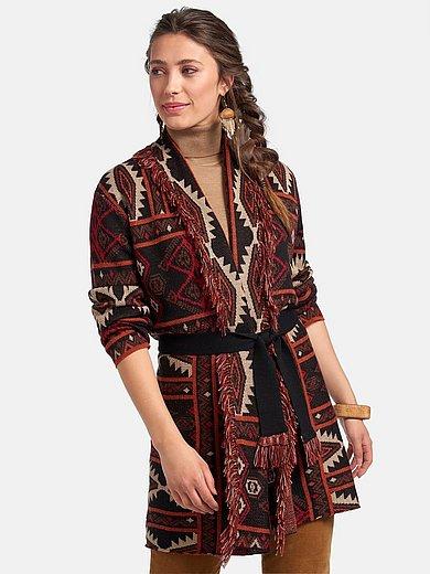 Inkadoro - Long cardigan with long sleeves