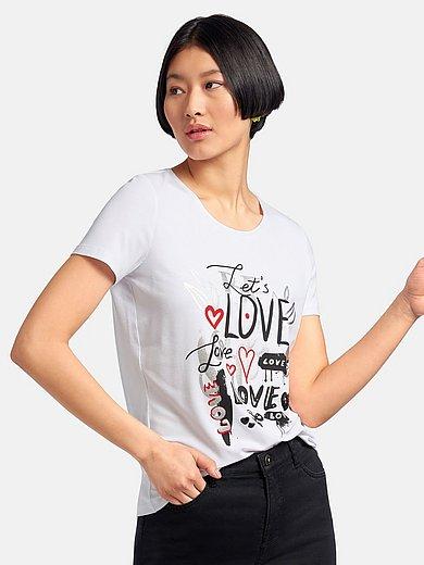 MYBC - Shirt met ronde hals en korte mouwen