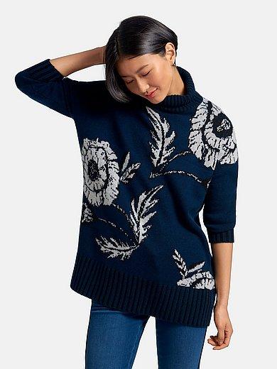 Cashmere Victim - Roll-neck jumper design Jeanette