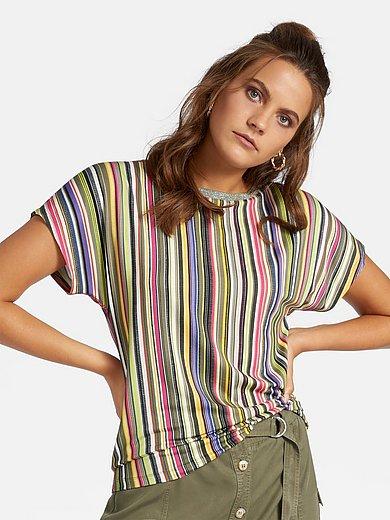 Basler - Shirt met boothals en korte kimonomouwen