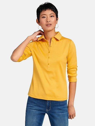 Efixelle - Polo shirt with 3/4-length sleeves