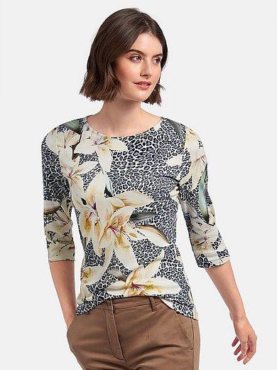 Efixelle - Shirt met 3/4-mouwen en boothals