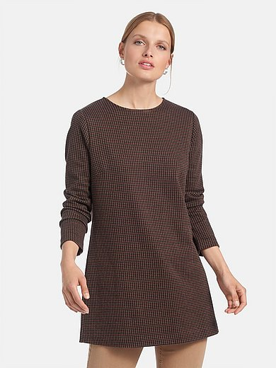 Peter Hahn - Long top with long sleeves and round neckline