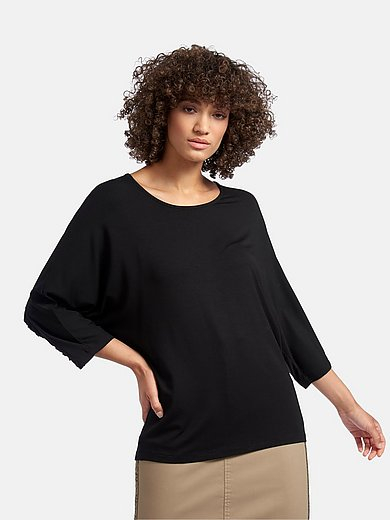 MYBC - Top with 3/4-length sleeves and boat neck