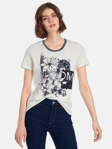Betty Barclay - Round neck top with short sleeves