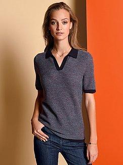 Damen Polo Pullover in Größe 48 bei Peter Hahn online kaufen