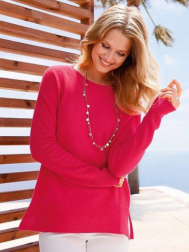 include - Round neck jumper in Pure cashmere in premium qual