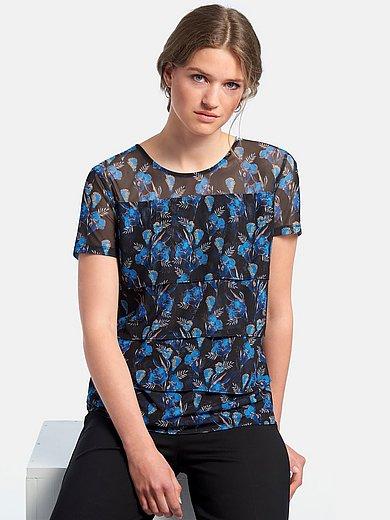 Gerry Weber - Shirt med rund hals og korte ærmer