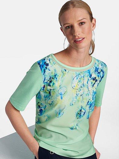 Basler - Shirt met ronde hals en korte mouwen