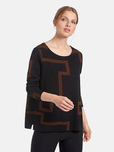 Gerry Weber - Round neck jumper with long sleeves