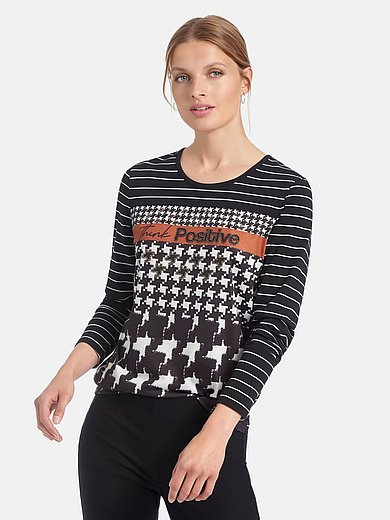 Gerry Weber - Round neck top with long sleeves
