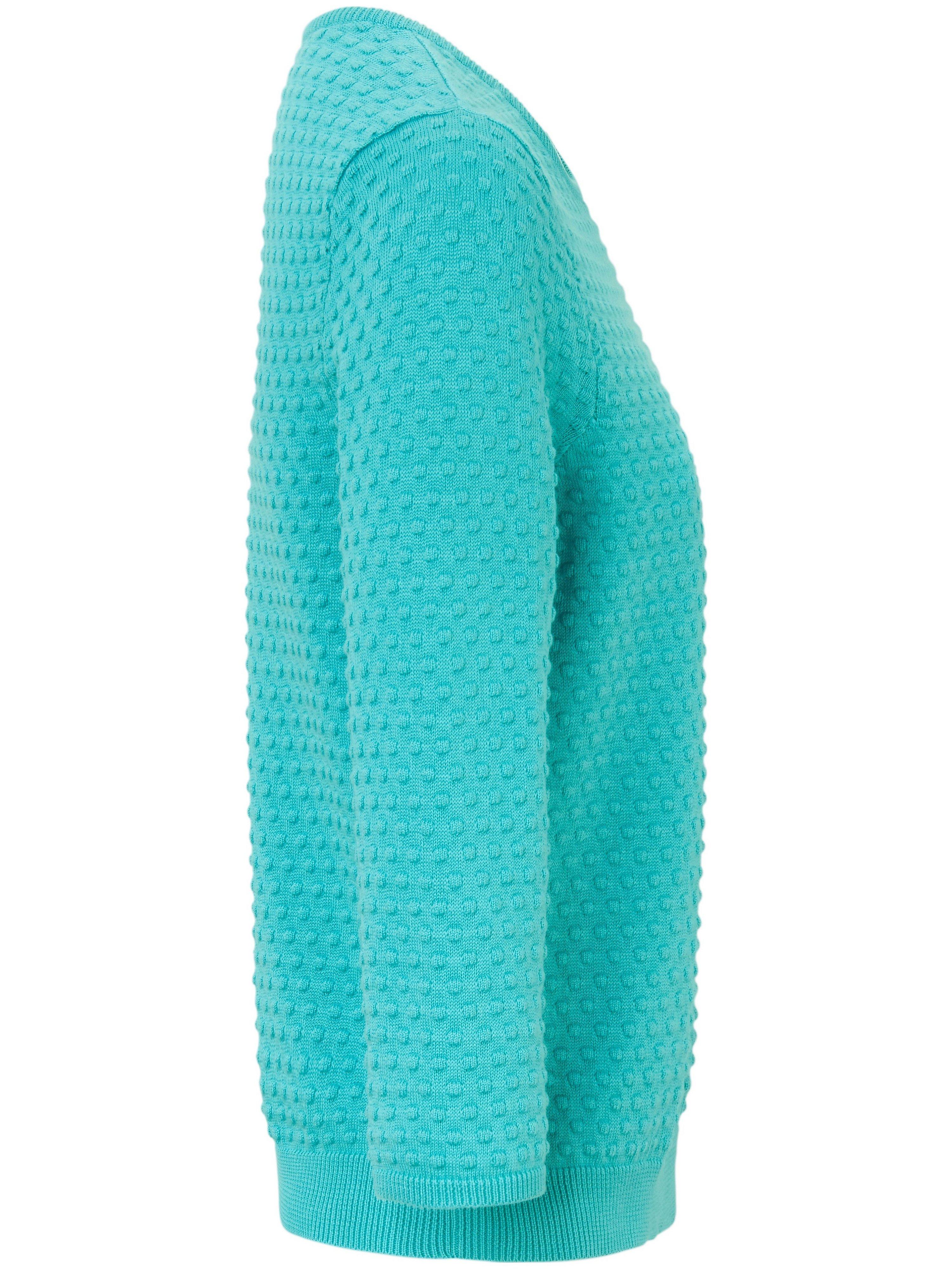 Rundhalset sweater Fra Peter Hahn turkis