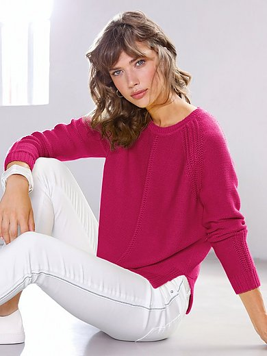 Looxent - Rundhals-Pullover