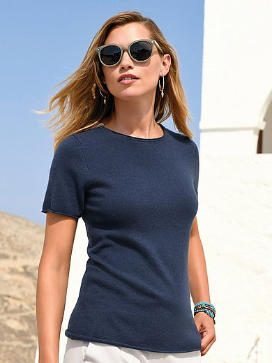 Laura Biagiotti Donna - Le pull 100% cachemire manches courtes