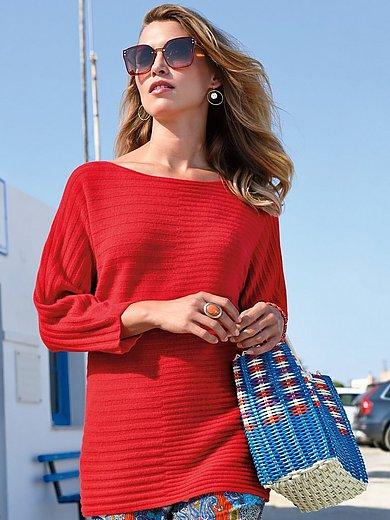 Laura Biagiotti Donna - Tröja med 3/4-kimonoärm i 100% kashmir i Premium-k