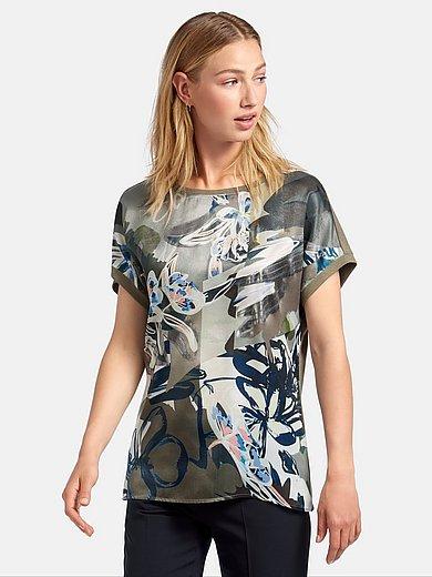 Rabe - Rundhals-Shirt überschnittenem Arm