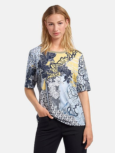 Rabe - Round neck top with short sleeves