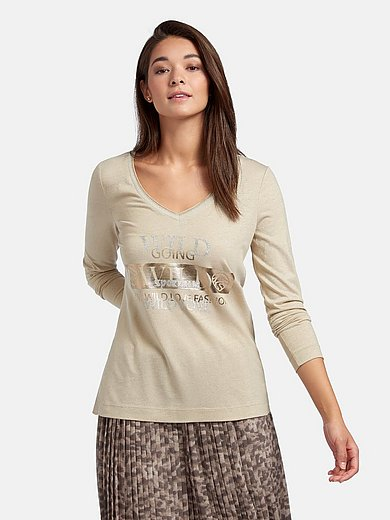 Sportalm Kitzbühel - V-neck top with long sleeves