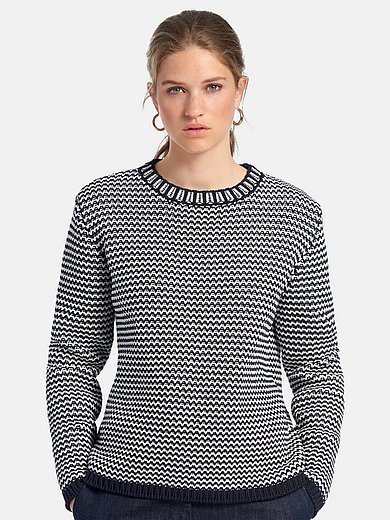 MAERZ Muenchen - Rundhalsad tröja med långa ärmar