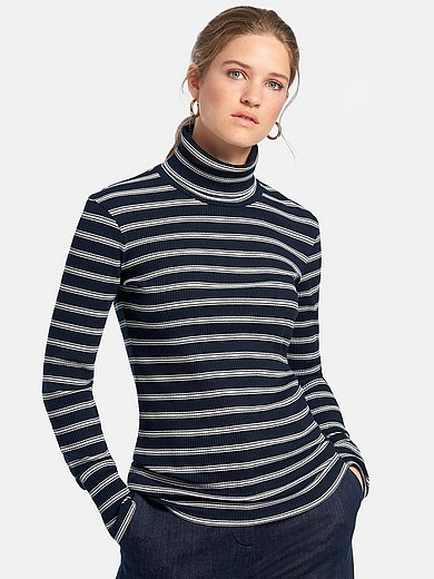 MAERZ Muenchen - Roll-neck shirt with long sleeves